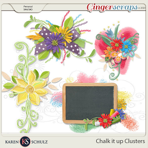 Chalk it Up Clusters by Karen Schulz