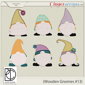 Wooden Gnomes #13