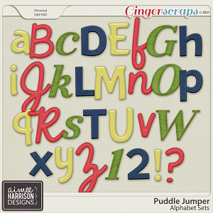 Puddle Jumper Alpha Sets by Aimee Harrison