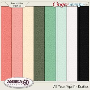 All Year {April} - Krafties