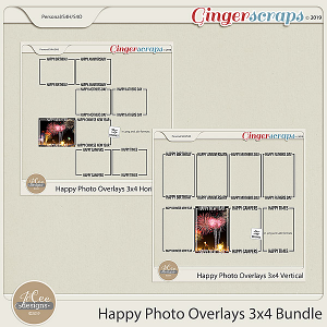Happy Overlays 3x4 Bundle