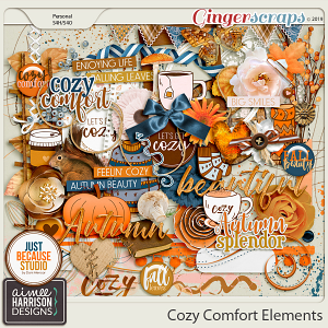 Cozy Comfort Elements Pack by Aimee Harrison and JB Studio