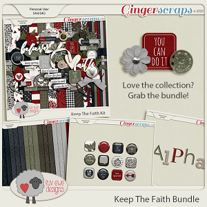 Keep The Faith Bundle by Luv Ewe Designs