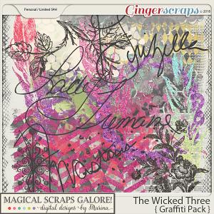 The Wicked Three (graffiti pack)
