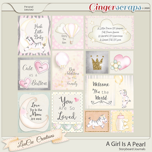 A Girl Is A Pearl Storyboard Journals