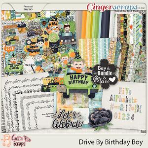 Drive By Birthday Boy Bundle