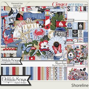 Shoreline Digital Scrapbooking Collection