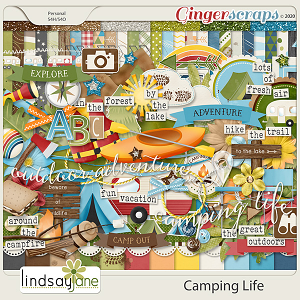 Camping Life by Lindsay Jane