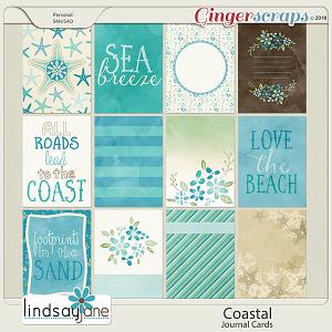Coastal Journal Cards by Lindsay Jane