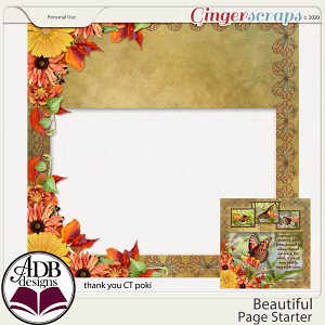 Beautiful Quick Page Gift 04 by ADB Designs