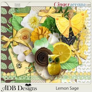 Lemon Sage Page Kit