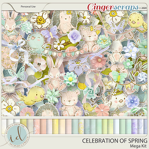 Celebration Of Spring Mega Kit by Ilonka's Designs