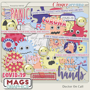 Doctor On Call CORONA VIRUS Pack by MagsGraphics