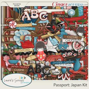 Passport: Japan Page Kit
