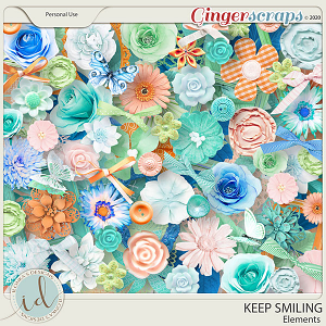 Keep Smiling Elements by Ilonka's Designs