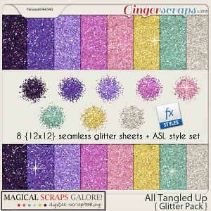 All Tangled Up (glitter pack)