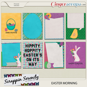 Easter Morning Journal Cards
