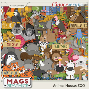 Animal House: ZOO KIT by MagsGraphics