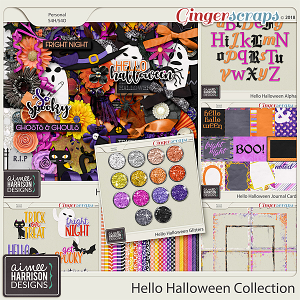 Hello Halloween Collection by Aimee Harrison