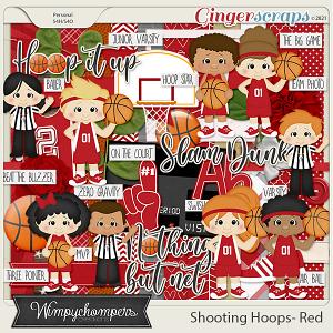 Shooting Hoops- Red