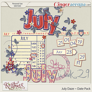 July Daze Date Pack
