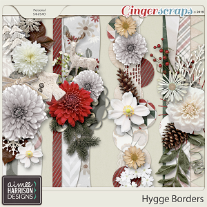 Hygge Borders by Aimee Harrison