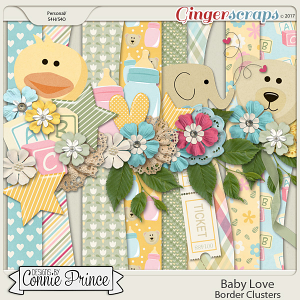 Baby Love - Border Clusters