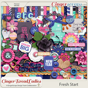 GingerBread Ladies Collab: Fresh Start {2015}