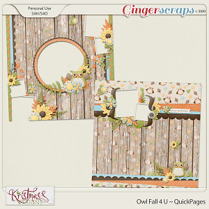 Owl Fall 4 U QuickPages