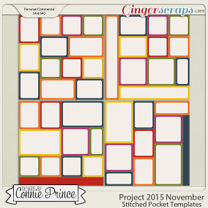 Project 2015 November - Stitched Pocket Templates