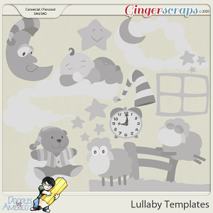 Doodles By Americo: Lullaby Templates