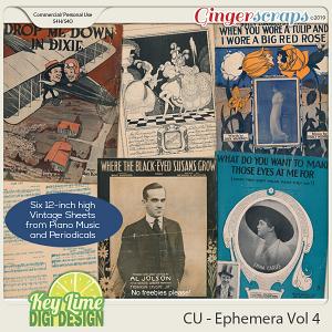 CU Ephemera Volume 4 by Key Lime Digi Design