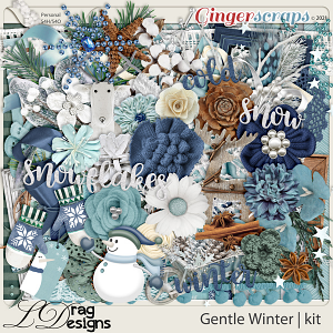 Gentle Winter by LDragDesigns