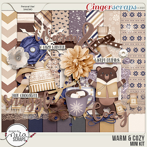 Warm & Cozy - Mini Kit by Neia Scraps