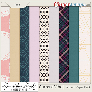 Current Vibe   Pattern Paper Pack