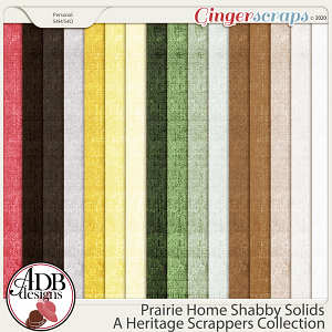 Prairie Home Shabby Solids by ADB Designs
