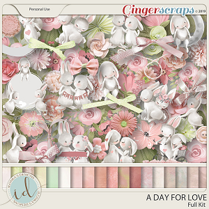 A Day For Love Full Kit by Ilonka's Designs