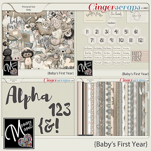 Baby's First Year by Memory Mosaic
