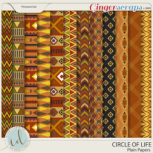 Circle Of Life Patterns by Ilonka's Designs