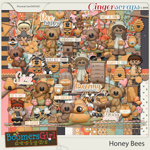 Honey Bees by BoomersGirl Designs
