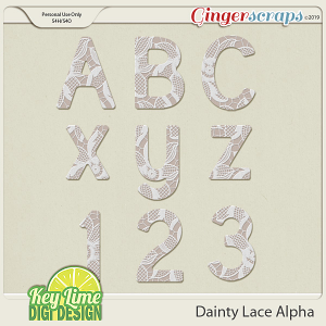 Dainty Lace Alpha