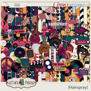 Hairspray Kit by Scraps N Pieces