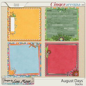 August Days Stacks from Designs by Lisa Minor
