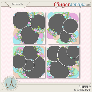 Bubbly Template Pack by Ilonka's Designs
