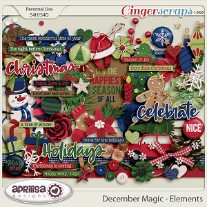 December Magic - Elements by Aprilisa Designs