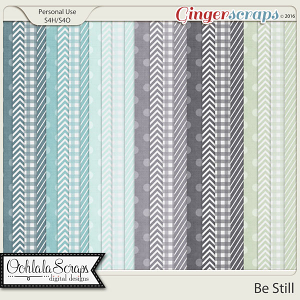 Be Still Patterned Papers