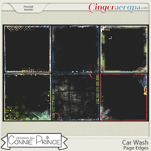 Car Wash  - Page Edges by Connie Prince