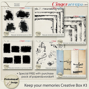 Keep your memories Creative Box #3