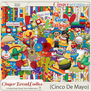 GingerBread Ladies Collab: Cinco De Mayo