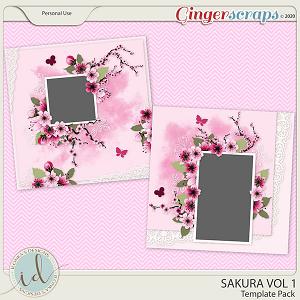 Sakura Template Pack Vol 1 by Ilonka's Designs